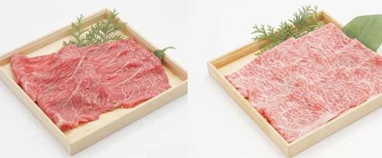 赤身肉と霜降り肉の価格差