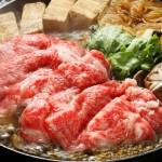 たまにはいいお肉ですき焼きしましょう