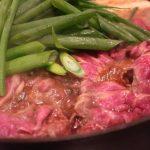 ジビーフですき焼き、じつは初めてでドキドキしましたが健康な肉は食後の体が軽い