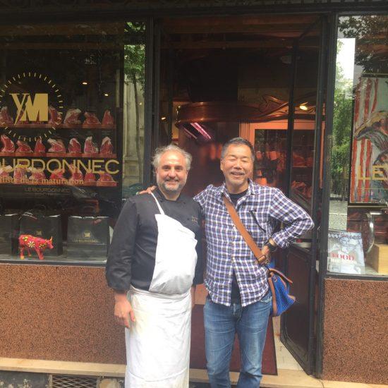 パリに到着、まずは16区のイブマリの店へ