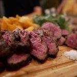 ル・ルビーで肉とワイン会