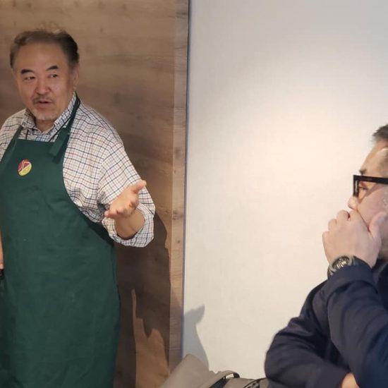 日本ガストロノミー協会にてすき焼きの会