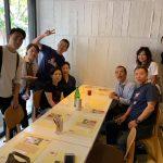 林家木久蔵×新保吉伸×メログラーノで一日限定ハンバーガー100個おかげさまで無事盛況にうちに終了しました