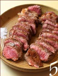 5.熟成肉はシンプルに