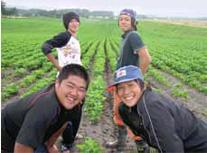 東日本大震災被災地への支援