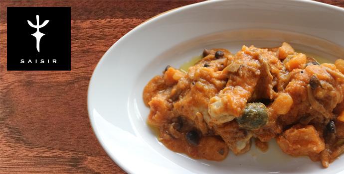 セジールオリジナル ほうき鶏のカチャトーラ